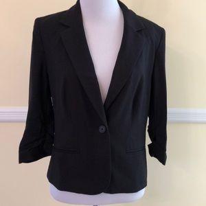 LC Lauren Conrad blazer black 10 EUC